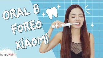 👄 Review 5 BÀN CHẢI ĐIỆN của Oral B🔺 Xiaomi🔸 Foreo🔹| REVIEW ELECTRIC TOOTHBRUSHES | Happy Skin