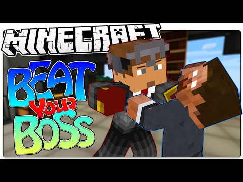 Minecraft | WHACK YOUR BOSS! | Kill Herobrine, Notch, & More (Minecraft Custom Roleplay Map)