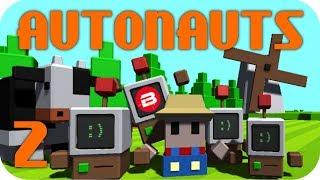 Autonauts Gameplay - MASSIVE ROBOTIC PRODUCTION LINE! Let