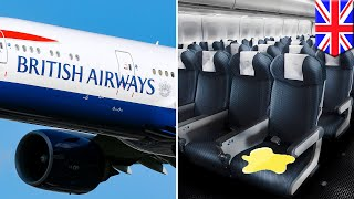 British Airways passenger given an economy class seat that had urine all over it - TomoNews
