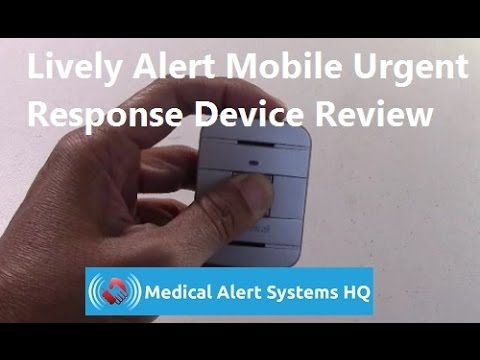 Lively Alert Mobile Urgent Response Device Review