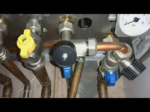 how to repressurise  a Ferroli boiler