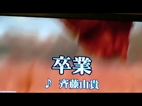 斉藤由貴サンの『卒業』歌ってみた🎵
