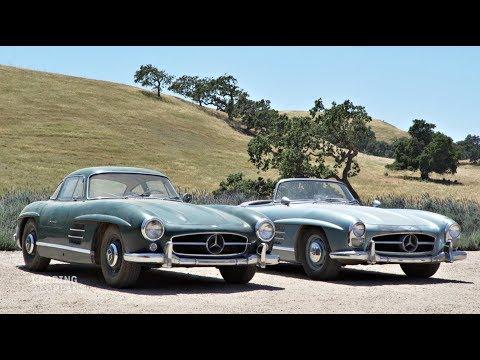 REVealed: 1955 Mercedes-Benz 300 SL Gullwing & 1957 Mercedes-Benz 300 SL Roadster