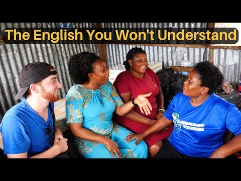 The English You Won't Understand... (PIDGIN ENGLISH)
