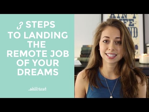 3 Steps to Landing Your Remote Dream Job