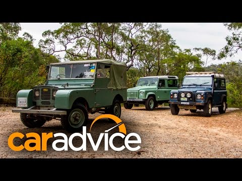 Land Rover Defender 90 Old v New - featuring 1948 Series 1 and 2016 Heritage Edition
