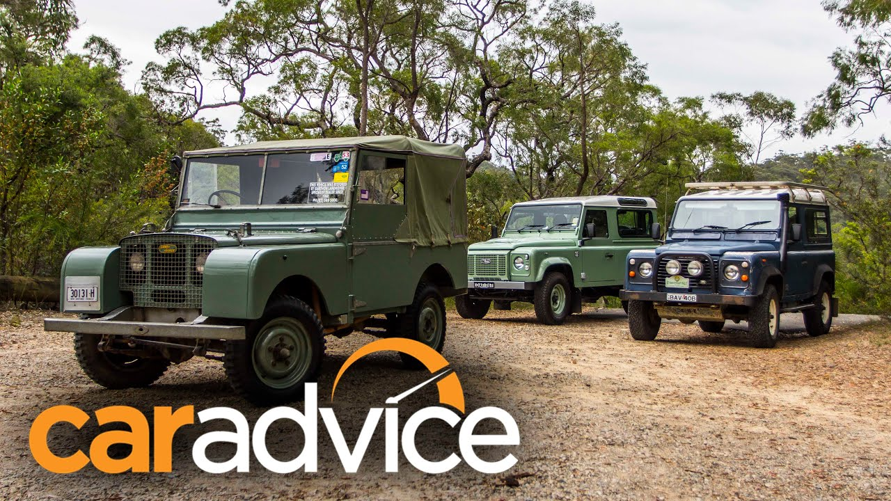 Land Rover Defender 90 Old v New featuring 1948 Series 1 and