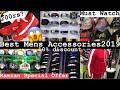 Best Men's Accessories For Eid | Sunglasses | Tshirt | Belts | Bags | Cap | Mumbai 2019 Part 2