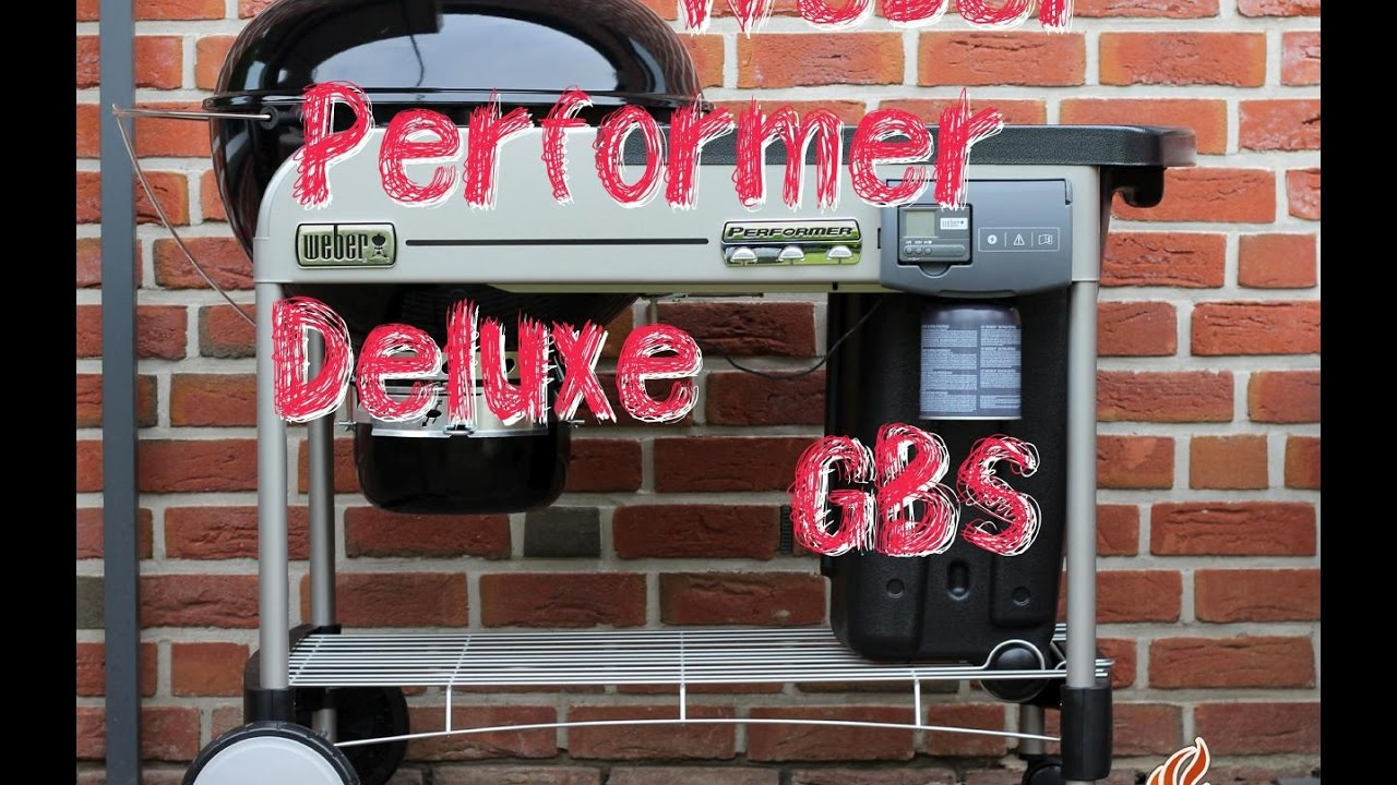 weber performer deluxe gbs holzkohle kugelgrill unboxing und aufbau tobiasgrillt youtube. Black Bedroom Furniture Sets. Home Design Ideas