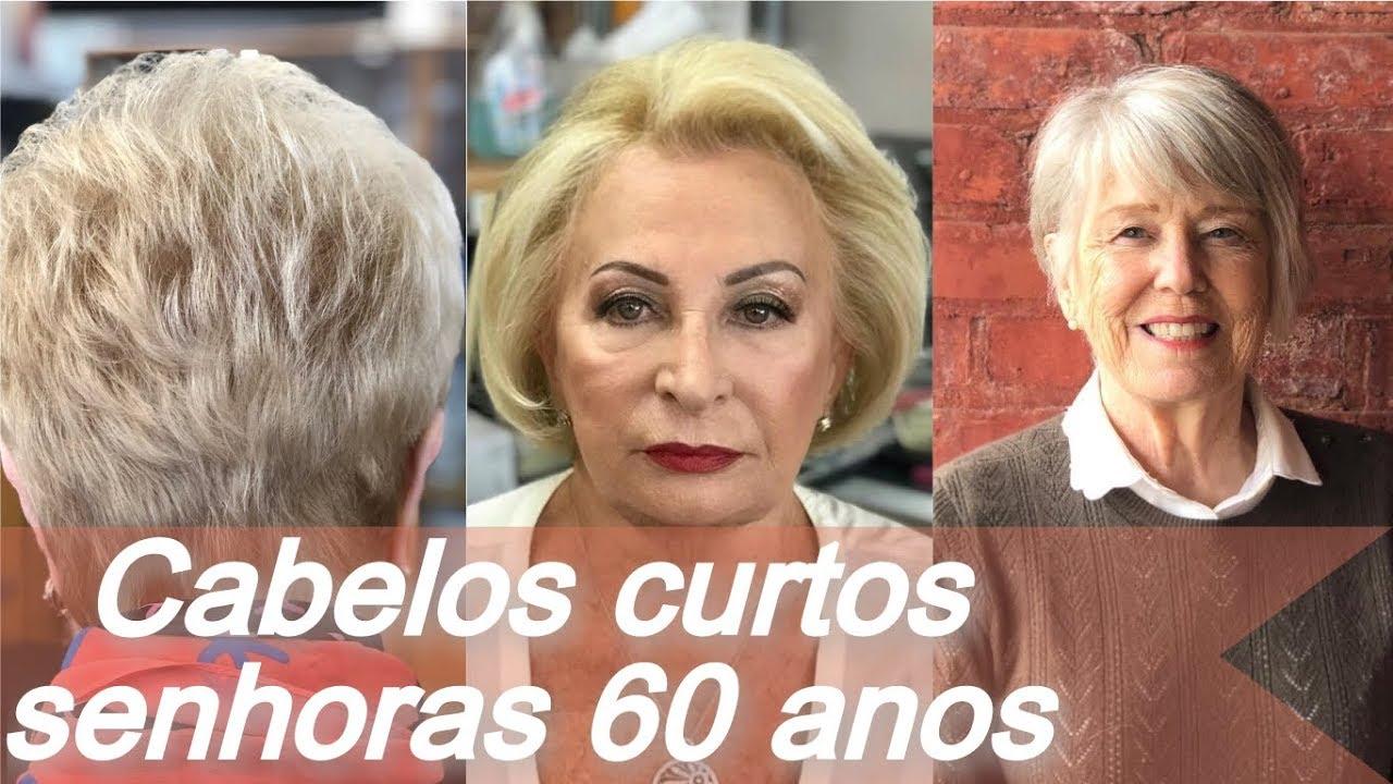 Tendência De Cabelos Curtos Senhoras 60 Anos Verão 2019