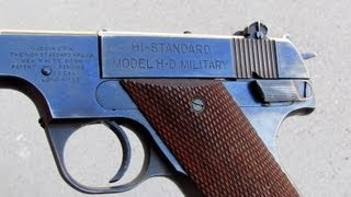 High Standard made some of the best .22 pistols in the world and to...