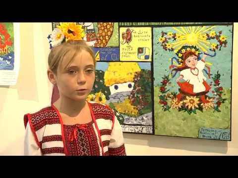 9-channel.com: Україна в емалі: кращі дитячі малюнки взяли за основу емальєри Дніпра