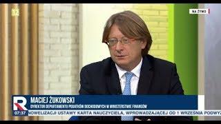 Maciej Żukowski (dyrektor departamentu podatków) - ZOBACZ DO JAKICH MŁODYCH ADRESOWANY JEST PIT-0