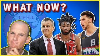 WHAT'S NEXT for the Bulls after Billy Donovan coaching hire? [ZACH LAVINE TRADES]