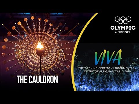 How the Rio 2016 Olympic Cauldron was Made | Viva! - Behind the Scenes Rio 2016 Opening Ceremony