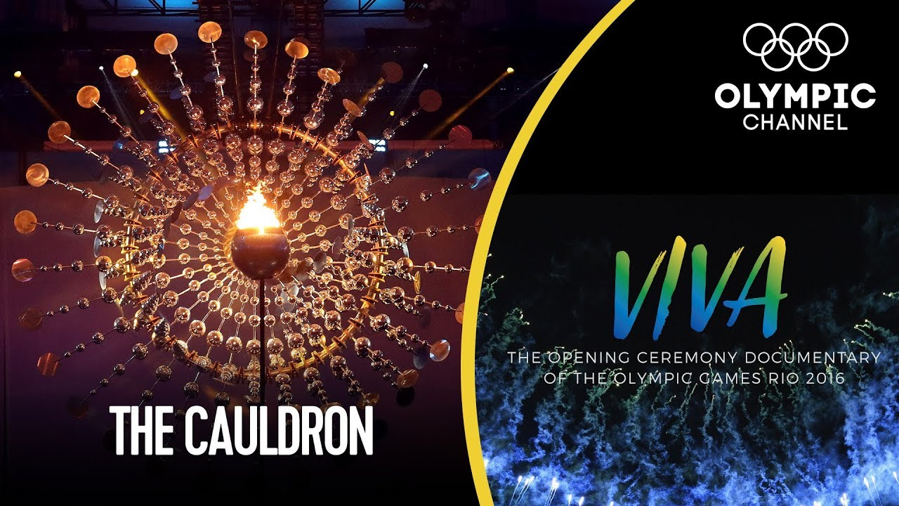 How the Rio 2016 Olympic Cauldron was Made   Viva! - Behind the Scenes Rio 2016 Opening Ceremony