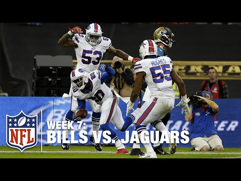 Bills Take the Lead with a Pick Six in the 4th Quarter! | Bills vs. Jaguars | NFL