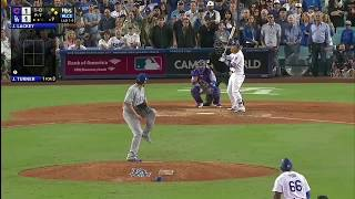 Justin Turner 3-Run Walk Off Homerun vs Cubs | Dodgers vs Cubs Game 2 NLCS