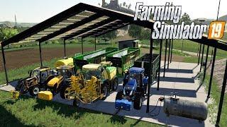 FARMING SIMULATOR 19 #152 - TRINCIAMO IL TERRENO 6 - GAMEPLAY ITA