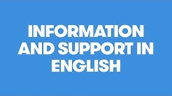 Information and support in English / Vantaakanava