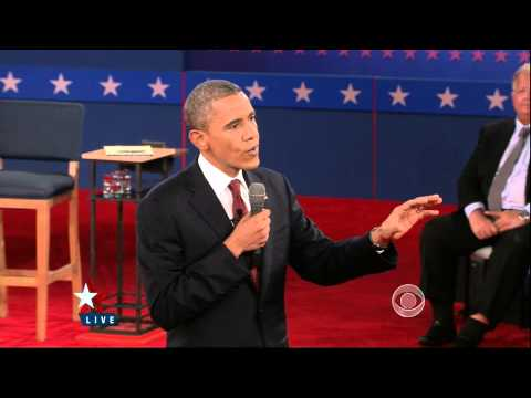 Full Second US Presidential Debate 2012