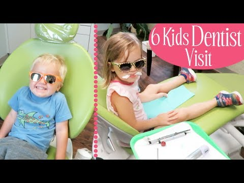 Six Kids Visit the Dentist!