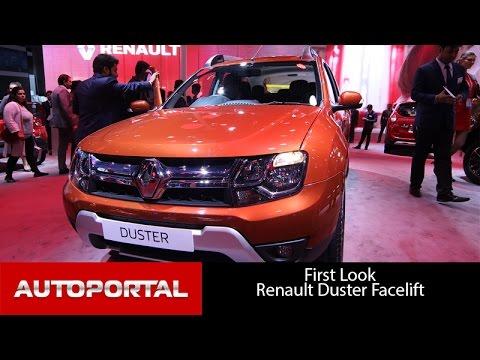 Renault Duster Facelift Auto Expo 2016 - Autoportal
