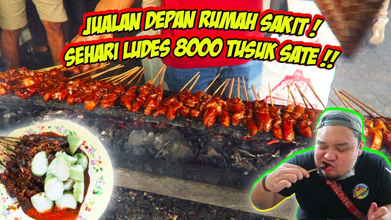 DAGANG DEPAN RUMAH SAKIT!! LUDES 8.000 TUSUK SEHARI !!