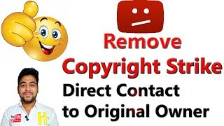 Remove Copyright Strike || Request to Original Owner || YouTube Suggestion || Hindi