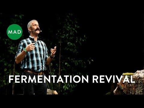 "Sandor Katz at MAD3: ""Fermentation Revival"""