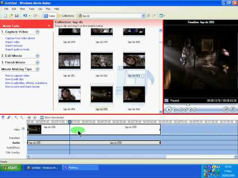 How To Mute Part Of A Video In Window Movie Maker
