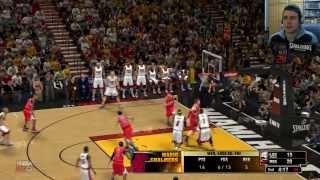 Miami Heat - Los Angeles Clippers    NBA 2K13 #7    Comentado en español 2.0 HD
