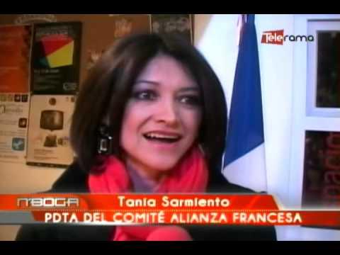 Christine Torelli se despidió de la Alianza Francesa de Cuenca