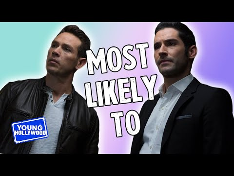 Lucifer Cast: Plays Who's Most Likely To