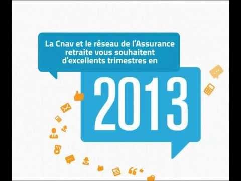 Les vœux 2013 de l'Assurance retraite