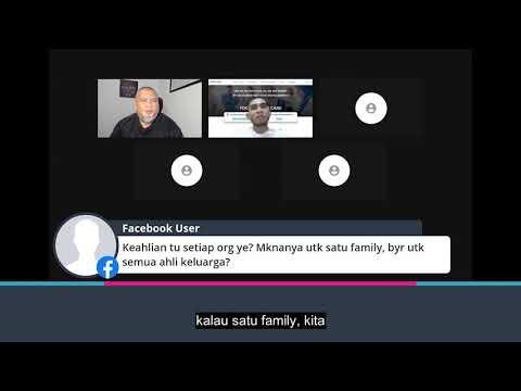 Jika satu family, kena bayar untuk setiap ahli keluarga ke?