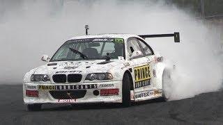 Adam Frank' BMW M3 E46 GTR w/ Toyota Supra 2JZ Engine - Drifting, Sound & Anti-Lag