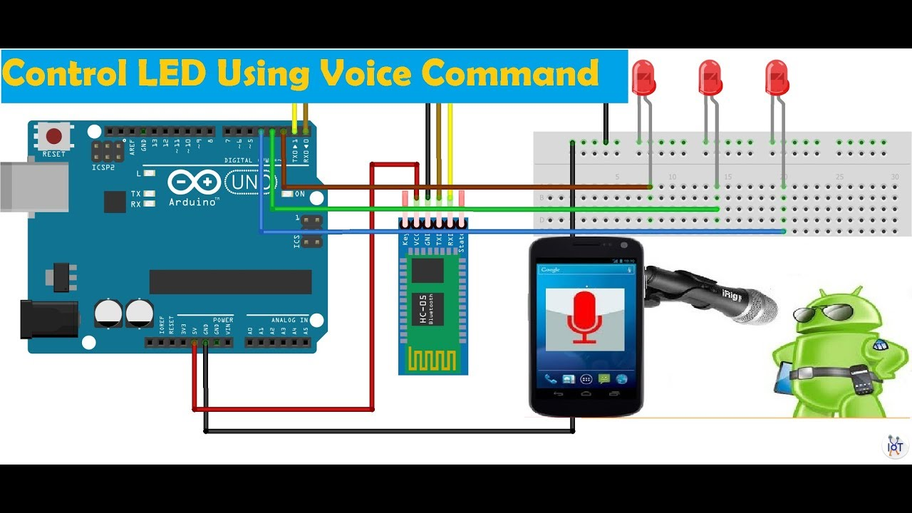 Control LED Using Your Voice Command - Arduino Project Hub