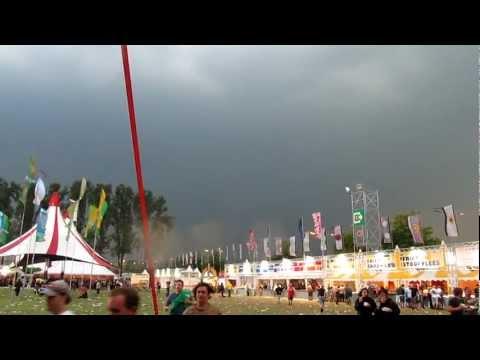 Verloop storm Pukkelpop 2011