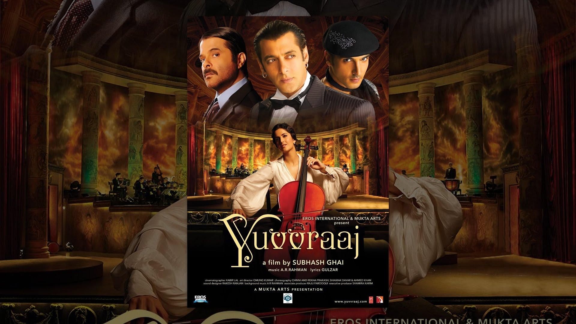Yuvvraaj - Hindi Drama Super Hit Movie | Full Movie | Anil Kapoor, Salman Khan