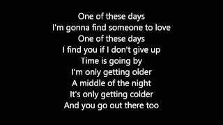 Olly Murs - One Of These Days (Lyrics)