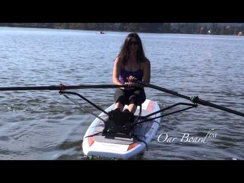 The New Oar Board™ SUP Rower by Whitehall Spirit®