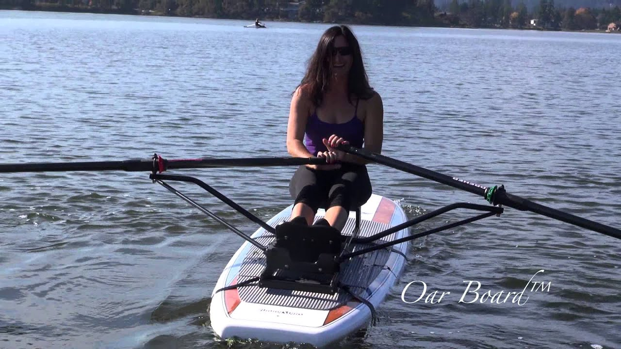 The New Oar Board™ SUP Rower by Whitehall Spirit® - YouTube