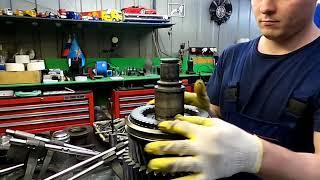 Ремонт коробки передач и замена сцепления автомобиля MAN 26.530.