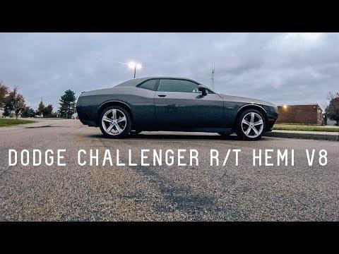 2017 / 2018 Dodge Challenger R/T HEMI V8 0-60 & Review