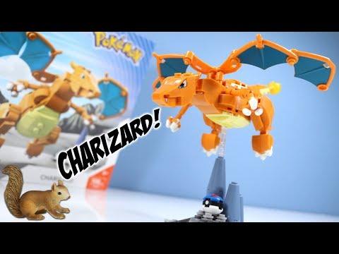 MEGA Construx Pokemon Charizard Speed Build Toy Review