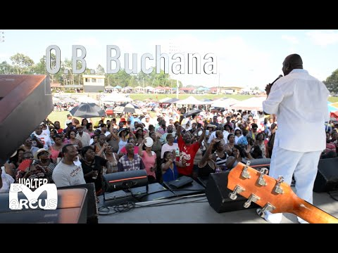 O B  Buchana performance at the Memorial day weekend blues festival in Holly Springs Mississippi !!!