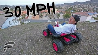 Repeat youtube video TOY JEEP VS GIANT HILL (CRAZY FAST)