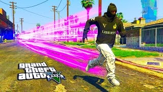 GTA 5 ONLINE -  FLASH N THE HOOD MOD!! GTA FLASH MOD GAMEPLAY (GTA 5 MODS)